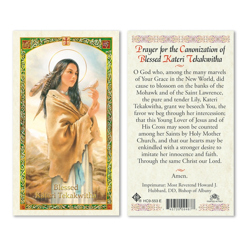 blessed kateri tekakwitha Kateri tekakwitha (1656 - april 17, 1680), the daughter of a mohawk warrior and a christian algonquin woman, was born in the mohawk fortress of ossernenon near present-day auriesville.