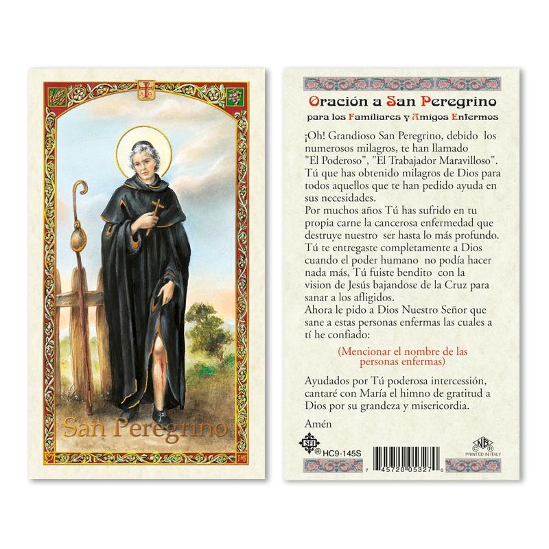 ST PEREGRINE - PRAYER TO 25/PKG - San Francis