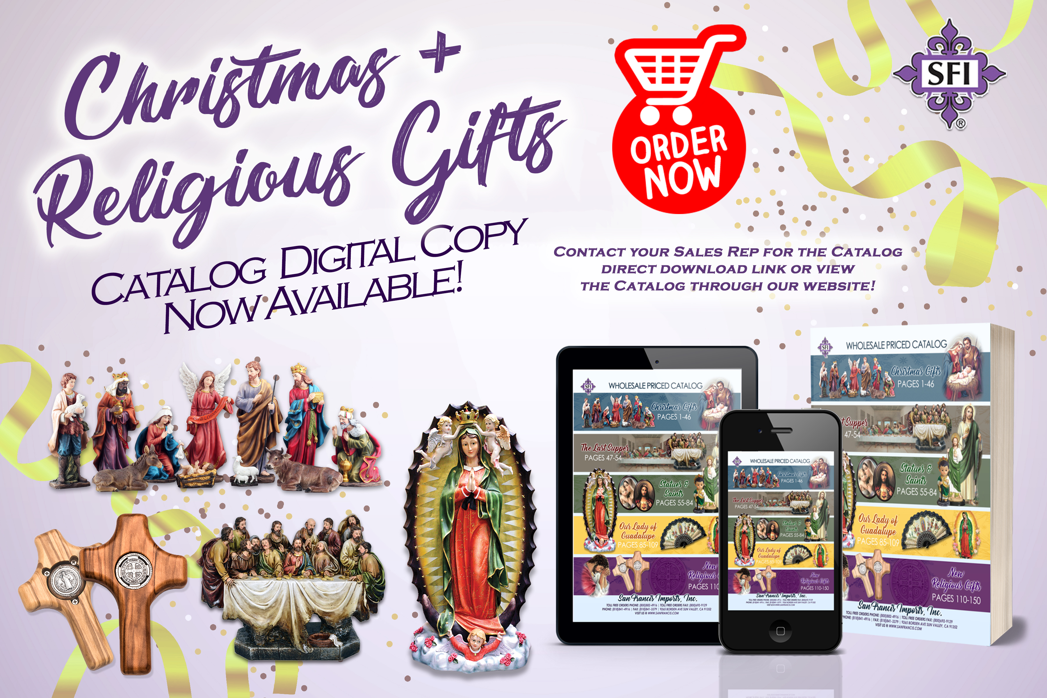Wholesale Religious Gifts, Bibles, Rosaries, Candles, Books